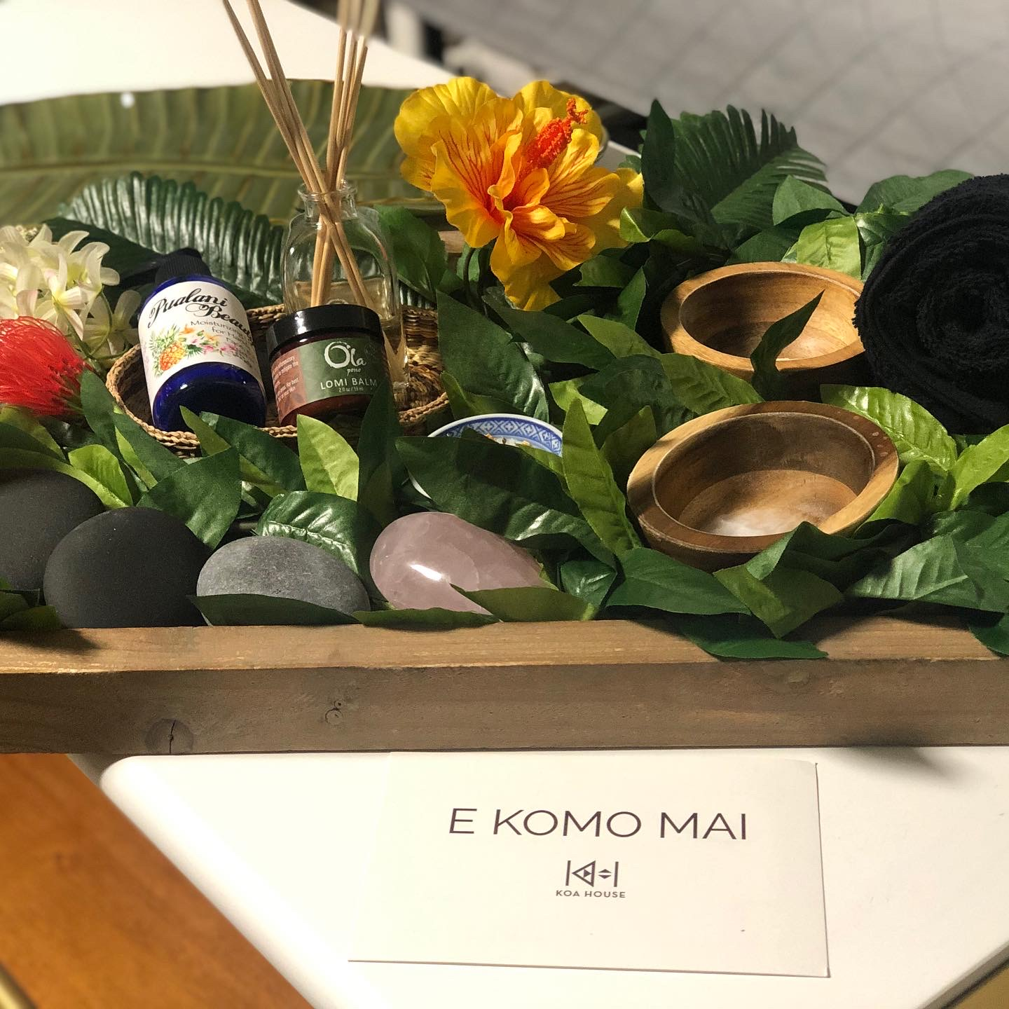 Hawaiian sourced, organic, wild-crafted, pono, products.