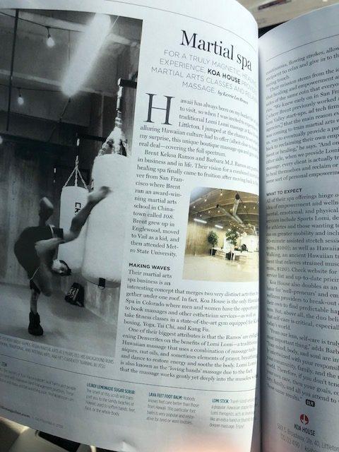 Spa Feature: Denver Life Magazine